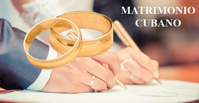 Matrimonio en CubaMatrimonio entre nacionales y extranjeros