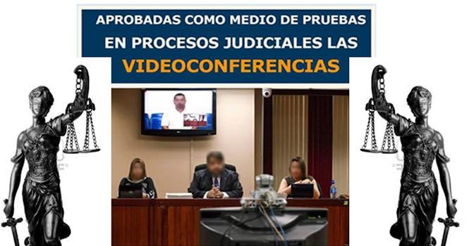 VIDEOCONFERENCIAS COMO PRUEBA EN LOS TRIBUNALES