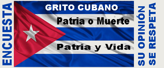 ENCUESTA POR otro GRITO CUBANO (unA PROPUESTA LIBRE)